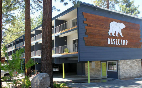 Rugged and Modern: Basecamp Hotel